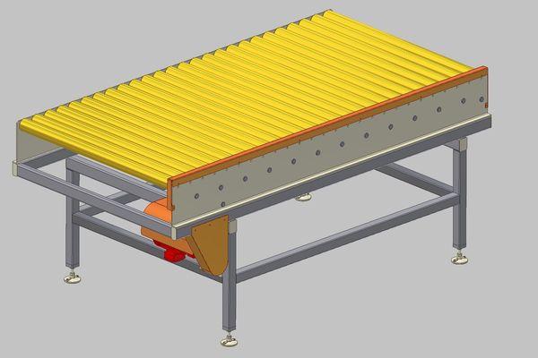 Belt Conveyor Cad Drawings Conveyor Belt Dwg Section For