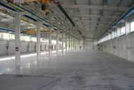 New production hall inside