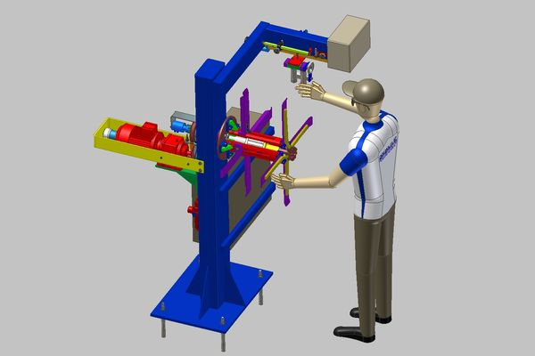 CAD mechanical Eegineering drawings - BROXTEC